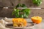Ζουμερή και νόστιμη πορτοκαλόπιτα με τζίντζερ