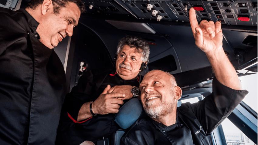 3 κορυφαίοι Έλληνες chef μαγειρεύουν στις πτήσεις της Aegean Airlines