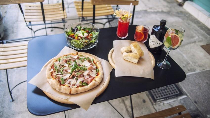 Tre Sorelle: Ποτέ μια πιτσαρία δεν ήταν τόσο chic