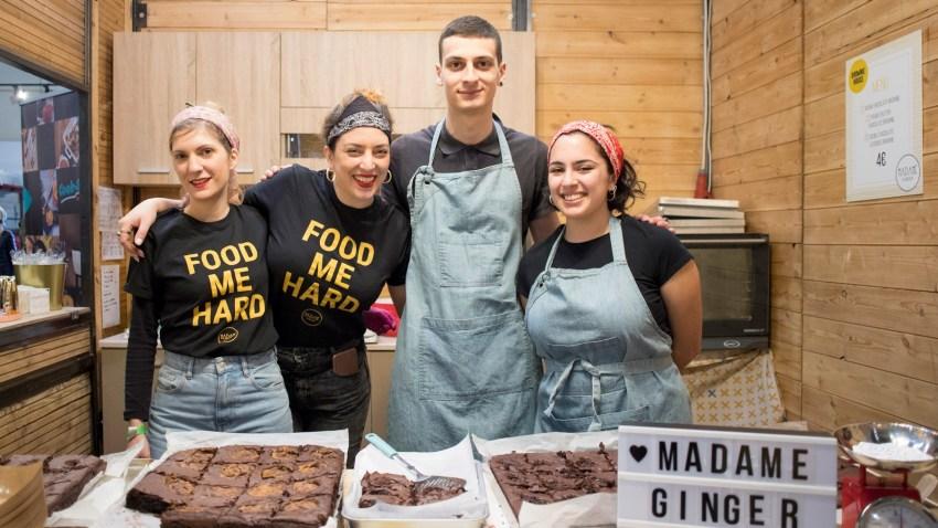 Τα κολασμένα brownies της Madame Ginger επιστρέφουν στο Chocolate Fest