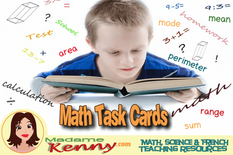 Math Task Cards: Differentiate Your Math Instructions