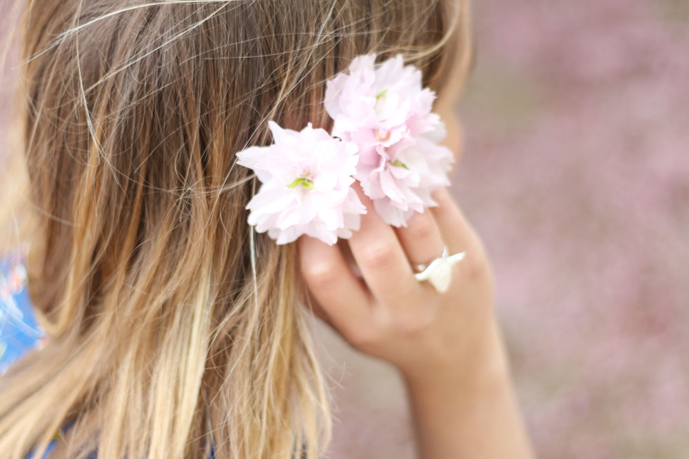 look fleuri