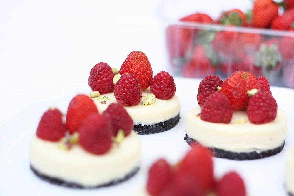 tartelettes au chocolat blanc et oréos