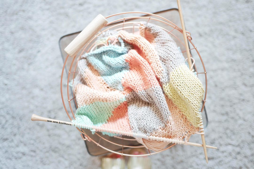 tricot coussin
