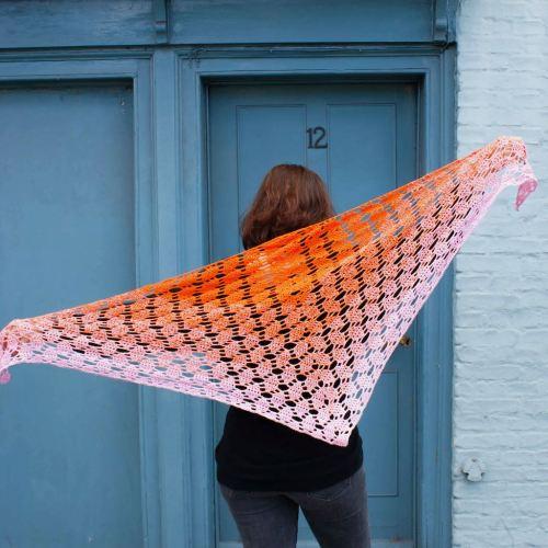 Perceptions Shawl crochet pattern by Dora Does