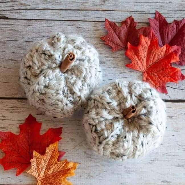 Chunky pumpkin crochet pattern