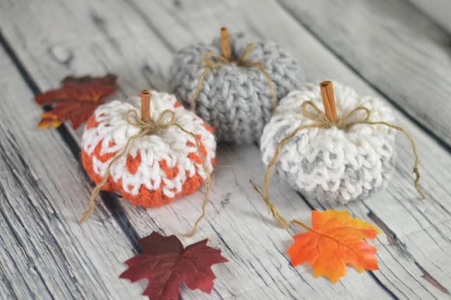Faded pumpkin crochet pattern