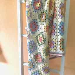 Farmhouse Granny Baby Blanket free pattern