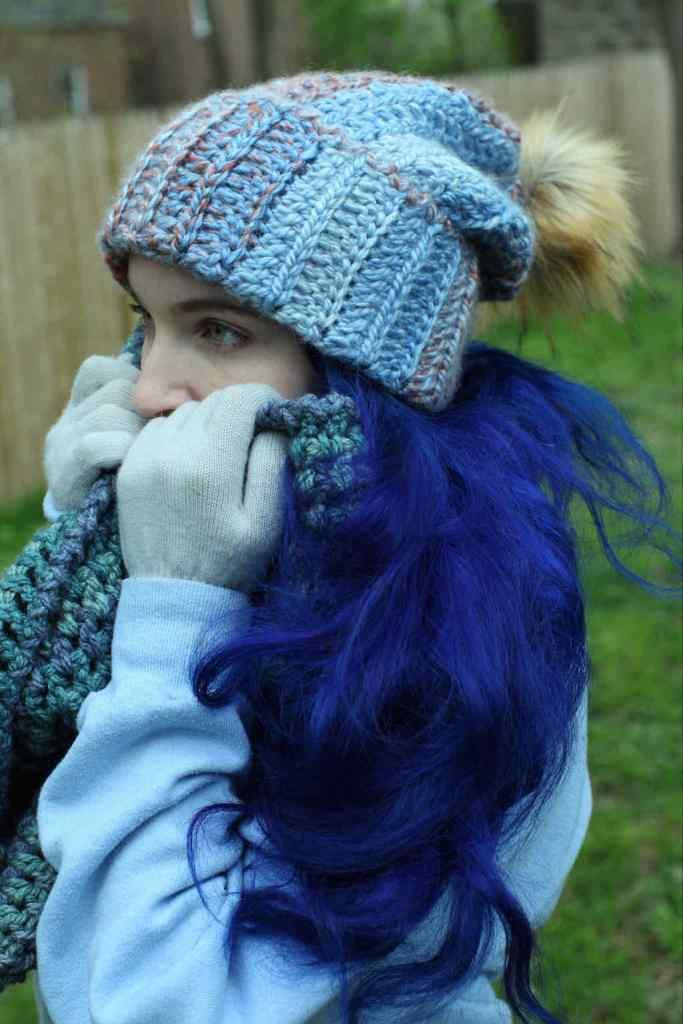 Maiya's Roommate's Hat crochet pattern by Betty McKnit