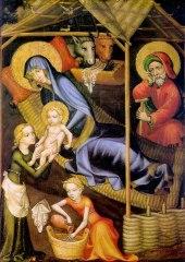 Stanza 5 Nativity Austrian Master C1400