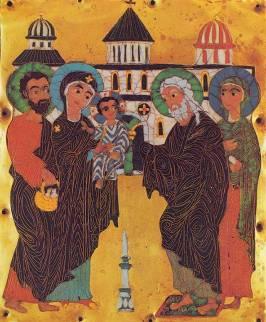 Stanza 8 Presentation At The Temple Georgia 12th C