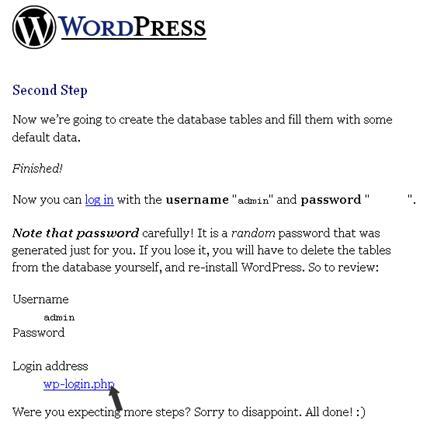 Clic para ver la imagen - WordPress