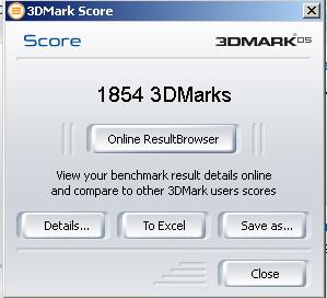 3DMark05 OC