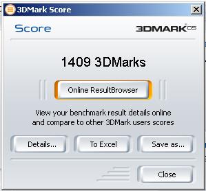 3DMark05 XT
