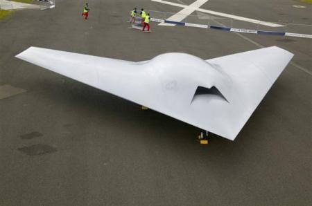 Este es el X-45C, en este diseño estará inspirado el Phantom Ray