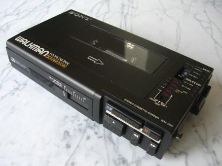 El Walkman WM-D6C, ampliamente usado por periodistas.