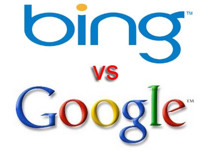 Google vs Bing 1