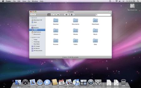Mac OS X v10.5 Leopard. Eye Candy por doquier.