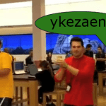 ¡Por favor no me hagan bailar como los empleados de la Microsoft Store de CA!