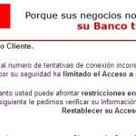 Cuidado con caer en el phishing de Santander