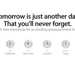 """Apple: """"Tomorrow is just another day that you'll never forget"""""""