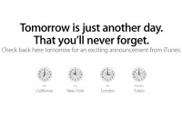 "Apple: ""Tomorrow is just another day that you'll never forget"""