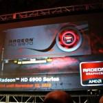 Se filtran detalles de las Radeon HD 6950 y 6970