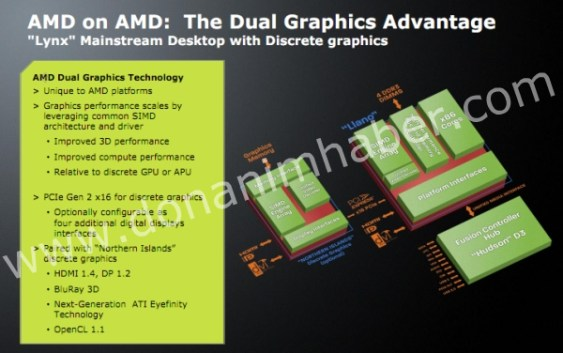 "AMD prepara ""Dual Graphics Technology"" para AMD Llano"
