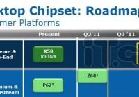 Detalles chipset Intel X79 para Sandy Bridge E y Panther Point para Ivy Bridge