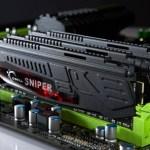 Nuevas G.Skill Sniper DDR3-1600Mhz a 1.25v