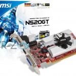 MSI GeForce GT 520 (N520GT) revelada