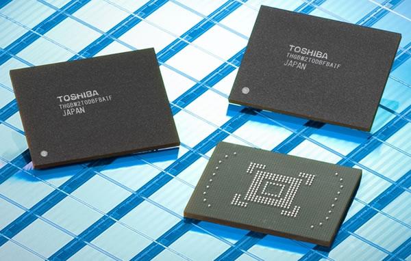 Toshiba y SanDisk avanzan a memorias NAND Flash de 19nm