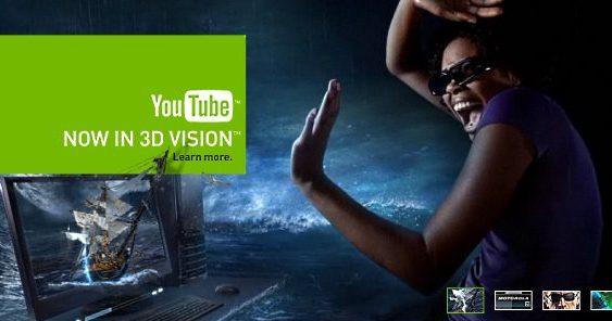 Google y NVIDIA agregan soporte 3D Vision para YouTube