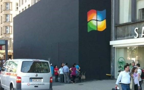 [HUMOR] Windeando una Apple Store en Hamburgo