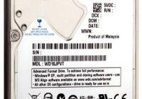 Western Digital Scorpio Blue 2.5″, 1TB en sólo 9.5mm