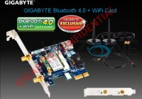 Bluetooth 4.0 y WiFi en una sola tarjeta en placas Gigabyte X79