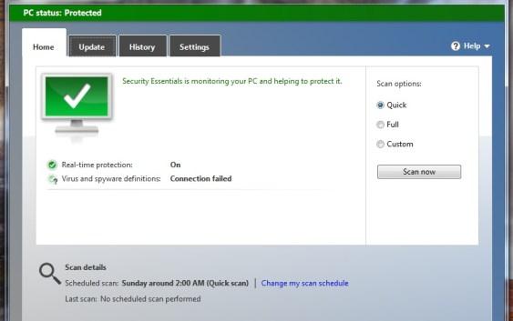 Microsoft Security Essential 4 Beta disponible