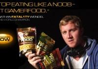 Fatal1ty ahora promociona snacks para Gamers!