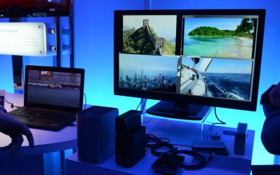 CES2012: AOC muestra su monitor con conexión Thunderbolt