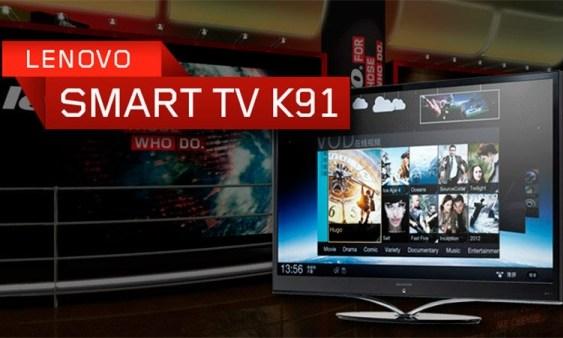 CES2012: Lenovo K91 Smart TV [Android 4.0 y CPU a 1.5Ghz + panel IPS, 3D, 240Hz y más mucho más]