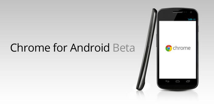 Google lanza Chrome Beta para Android 4.0