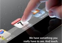 Apple presentará el iPad 3 el 7 de Marzo