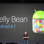 """Google anunció hoy Android 4.1 """"Jelly Bean"""" en la conferencia Google I/O"""
