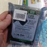 """Western Digital Caviar Green 2 TB en 2.5"""" avistado en el mercado japonés"""