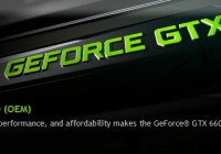 Especificaciones de la GeForce GTX 660 OEM