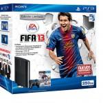 Bundle especial de FIFA 13 con la nueva PlayStation 3 solo para Latinoamérica.