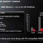 Ya puedes descargar la utilidad AMD Radeon RAMDisk