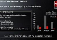 AMD Radeon RAMDisk promete acelerar hasta un 525% la carga de videojuegos y aplicaciones