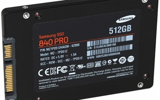 Samsung lanza actualización de Firmware para sus unidades SSD 840 Pro y 840
