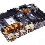ECS A85F2-A Golden, placa FM2 para Trinity